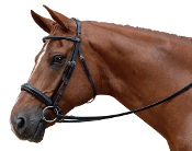 Albion KB Competition Crank Snaffle Bridle