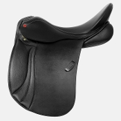 Black dressage saddle. Albion K2 Dressage