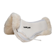 White Medium - sheepskin correction Half Pad